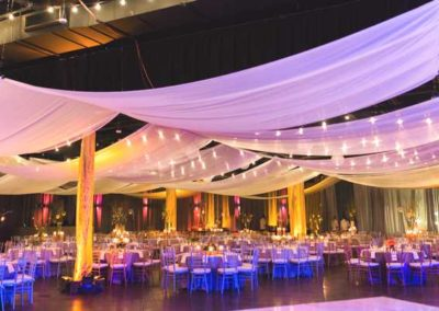 Minglewood Hall was transformed in to a fairy tale setting.
