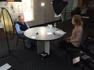 Better Together's Names, Not Numbers High school students interview local Holocaust survivors for student film.