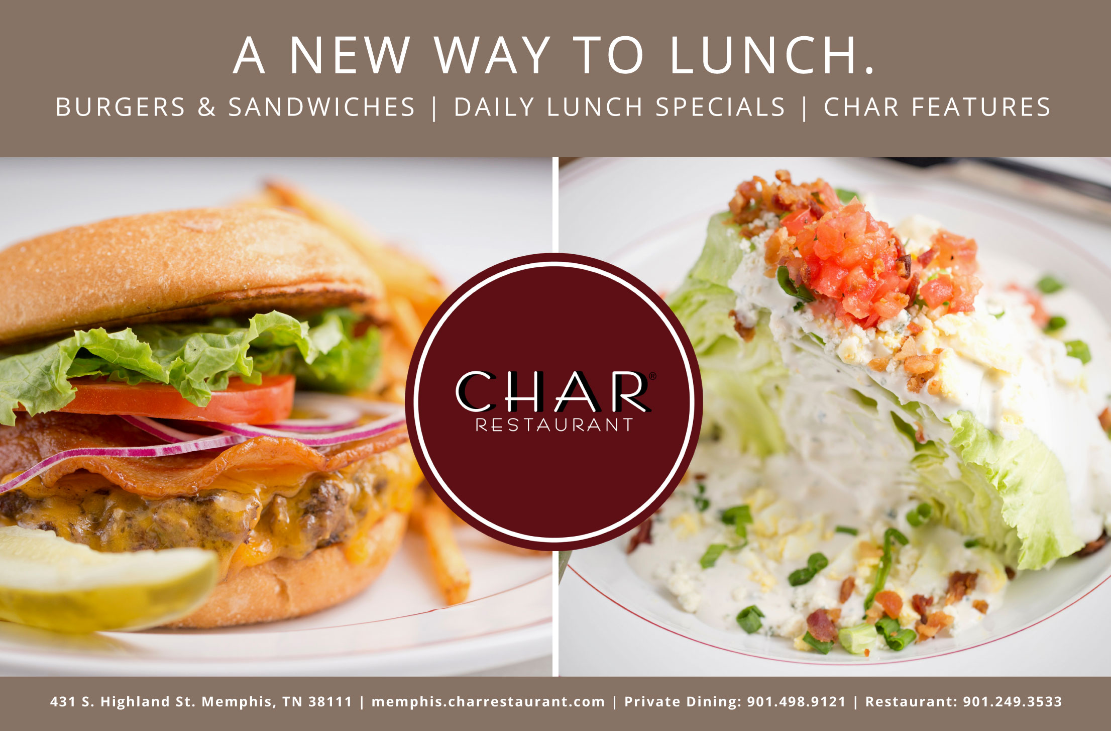 Char Lunch Ad