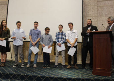 KYHS Students Accept Award from Israeli Consulate
