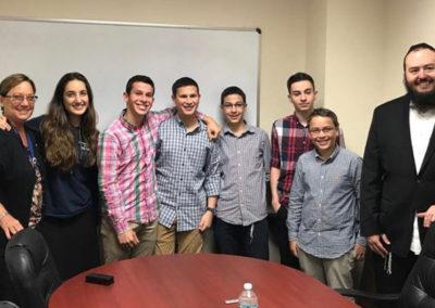 Winning Rube Goldberg Challenge Team
