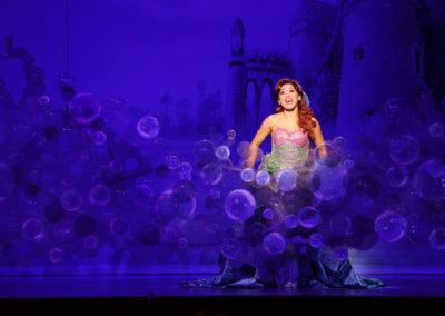 Diana Huey in Disney's THE LITTLE MERMAID Photo by Mark Tracy Photography