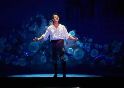 Eric Kunze in Disney's THE LITTLE MERMAID Photo by Steve Wilson