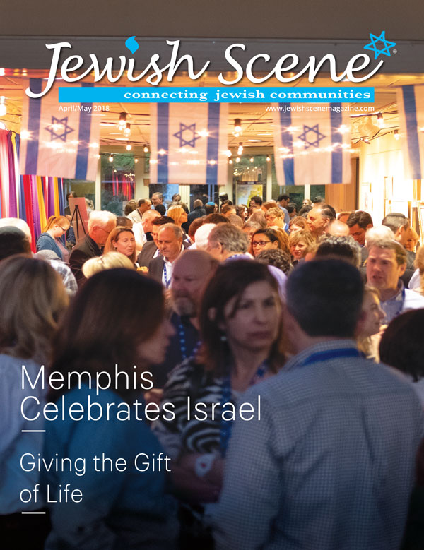 Jewish Scene April May 2018 Cover