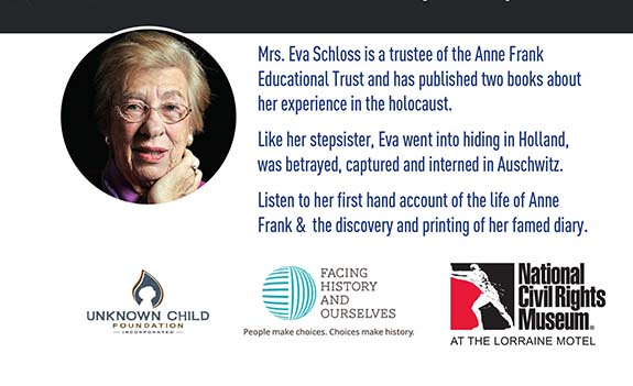 Accounts of the Holocaust from Anne Frank's Stepsister