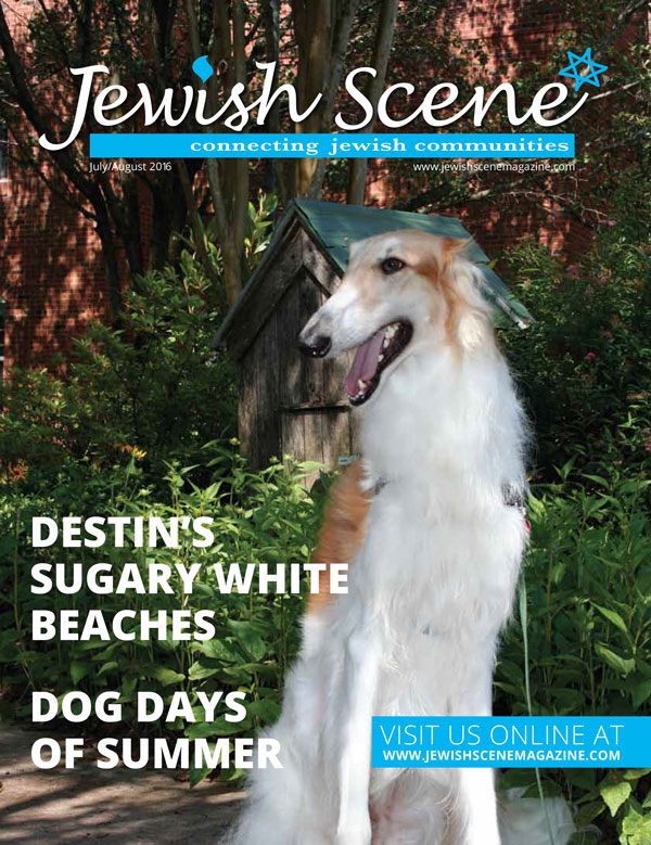 Jewish Scene July August 2016 Cover