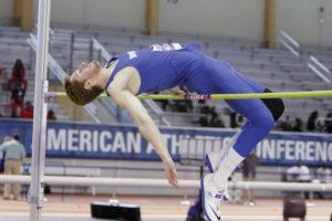 University of Memphis track and field team member Noah Agnew.