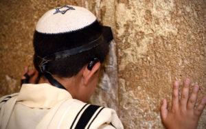 Prayers at the Western Wall.