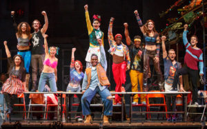 The Company of the RENT 20th Anniversary Tour