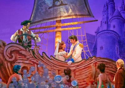 Cast of Disney's THE LITTLE MERMAID Photo by Steve Wilson