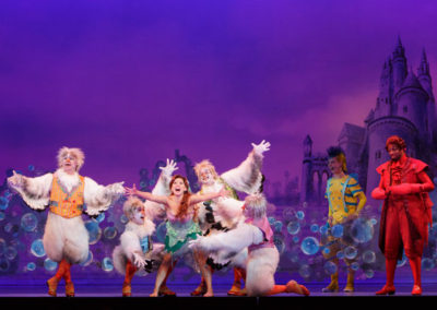 Cast of Disney's THE LITTLE MERMAID Photo by Mark Tracy Photography