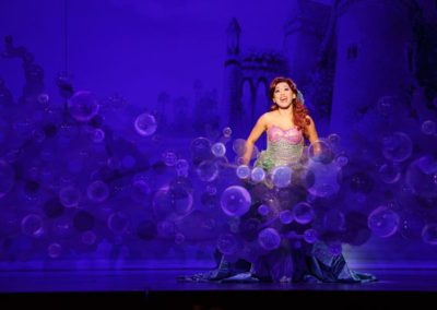 Diana Huey in Disney's THE LITTLE MERMAID Photo by Mark Tracy Photography