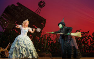 Amanda-Jane-Cooper-as-Glinda-and-Jessica-Vosk-as-Elphaba.-Photo-by-Joan-Marcus