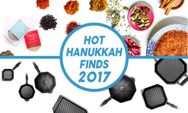 Day 3: Hot Hanukkah Finds 2017