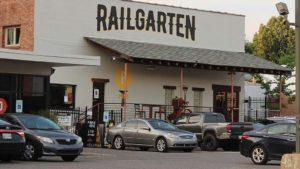 Railgarten is a popular family-friendly spot.