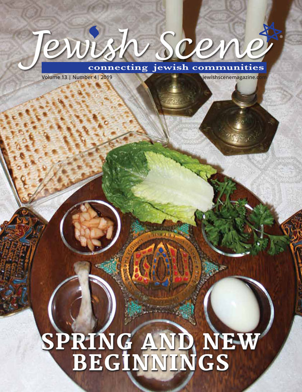 Jewish Scene April 2019 Cover