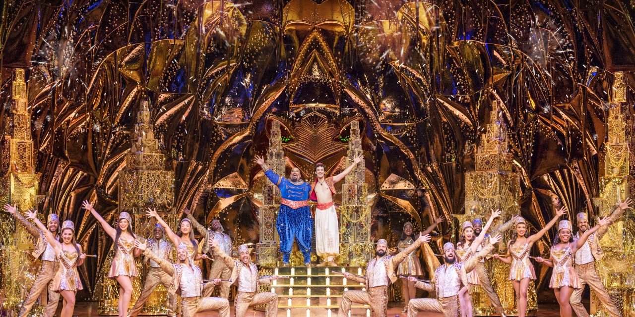 Aladdin at The Orpheum Theatre in Memphis is Breath Taking