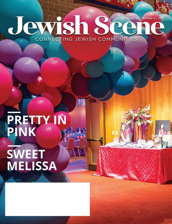 Jewish Scene April Cover