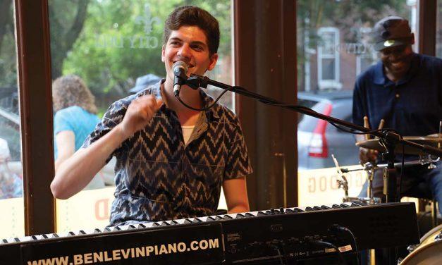 Ben Levin Blues Musician