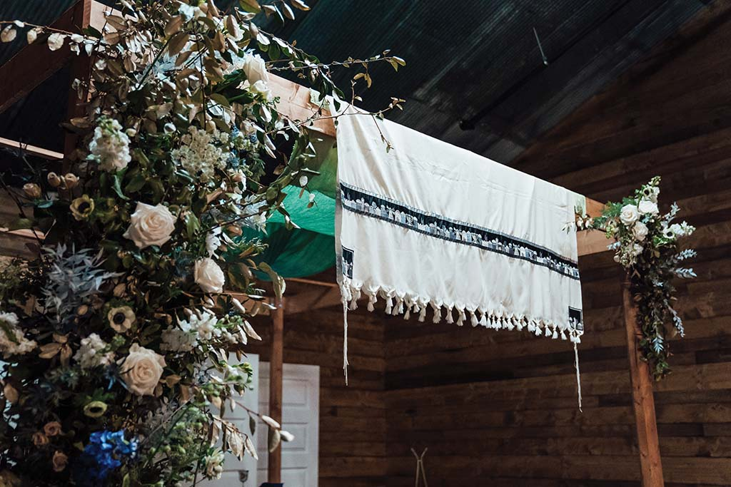 Laura and Andrew Chuppah