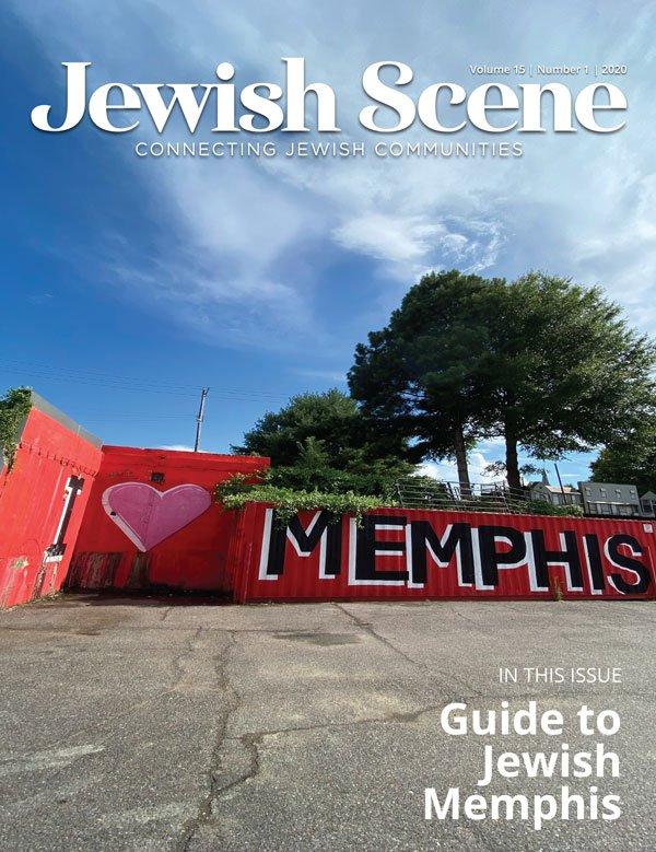 Jewish Scene September Cover