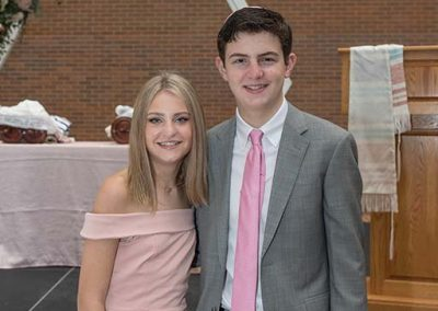 Katie with brother Nathan