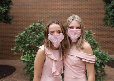 Katie with her best friend since pre-K, Maddie Barden