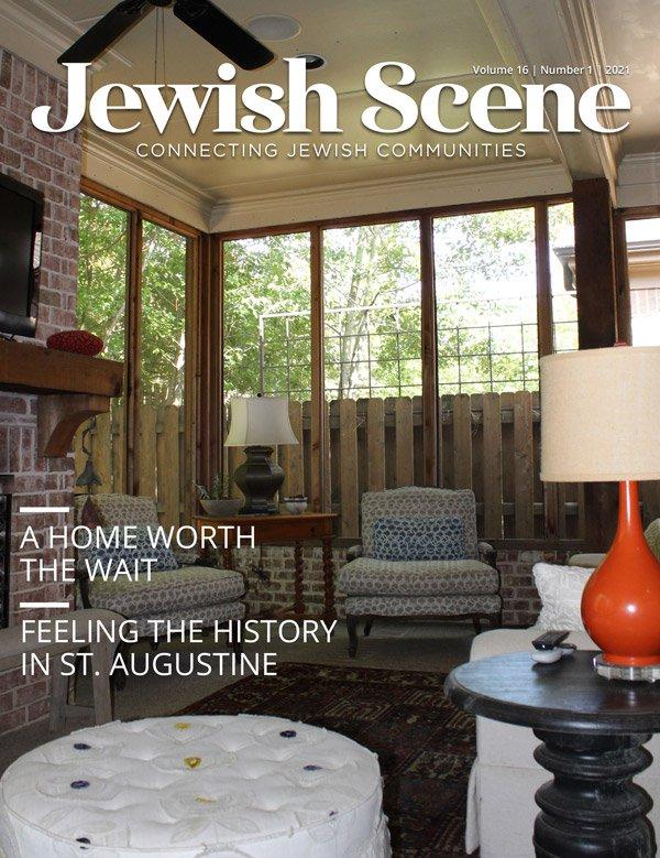 Jewish Scene October Cover