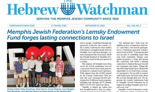 The Hebrew Watchman -9-23-21